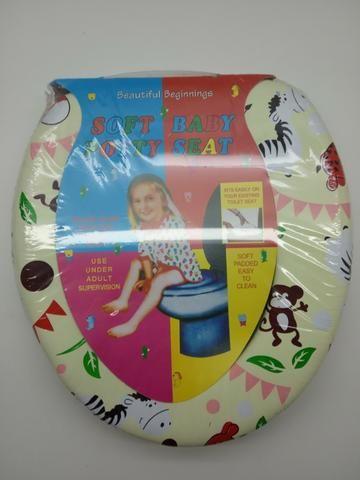 Assento Vaso Sanitário Infantil Redutor Acolchoado Espuma - Foto 2
