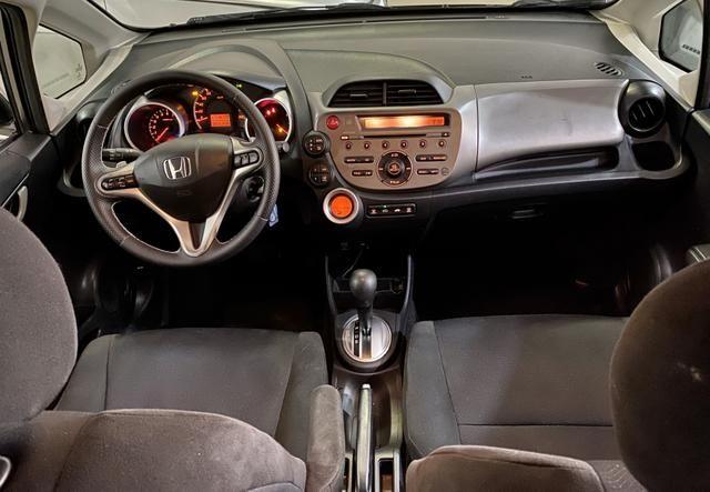 Honda Fit EX 1.5 flex automático completo 2014 - Foto 4