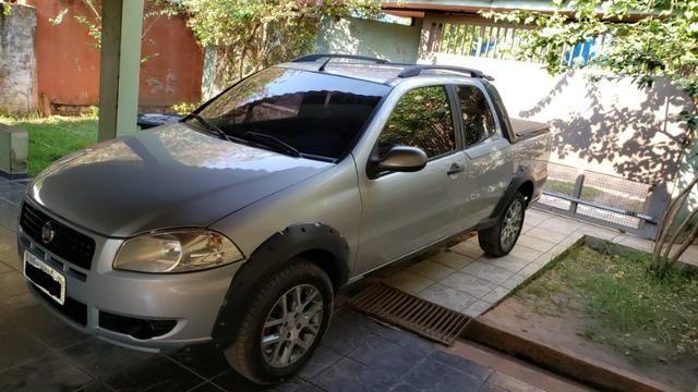 Fiat strada cabine dupla 1.4 flex working