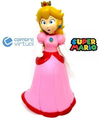 Boneca Princesa Peach Coleção Mario Bros - Loja Coimbra Computadores