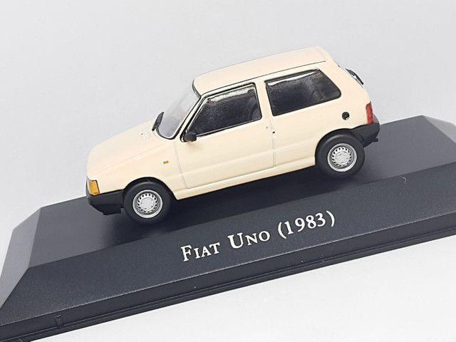 Miniatura Fiat Uno 1983 escala 1:43 - Foto 2