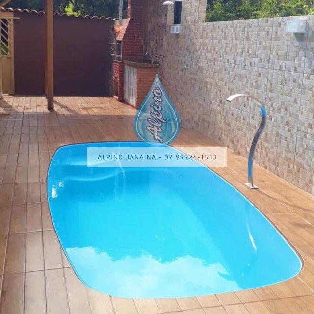 JA Promocao de piscina de fibra - Foto 4