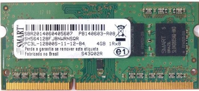 Memória Smart 4gb Ddr3 Pc3l 12800s 1600mhz - Foto 3