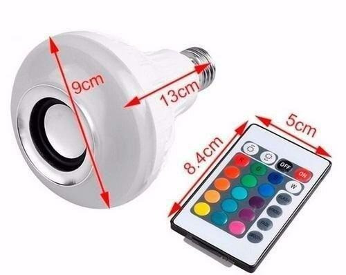 Lampada Musical com Bluetooth e Controle Remoto - Foto 4