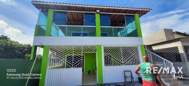 2 Casas com 5 dormitórios à venda, 250 m² por R$ 370.000 - Barra Grande - Vera Cruz/BA - Foto 2