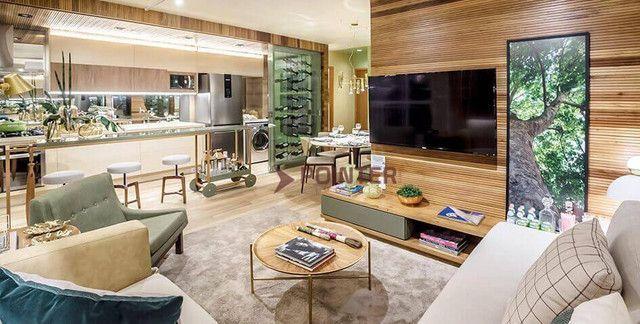 Apartamento com 3 dormitórios à venda, 83 m² por R$ 560.000,00 - Setor Oeste - Goiânia/GO