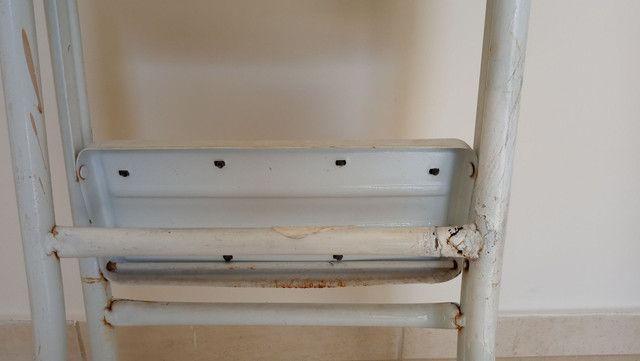 Escada de ferro 5 degraus - Foto 5