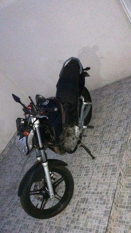 VENDE-SE MOTO YS 250 FAZER / FAZER L.EDITION/GASOLINA 2011 - Foto 8