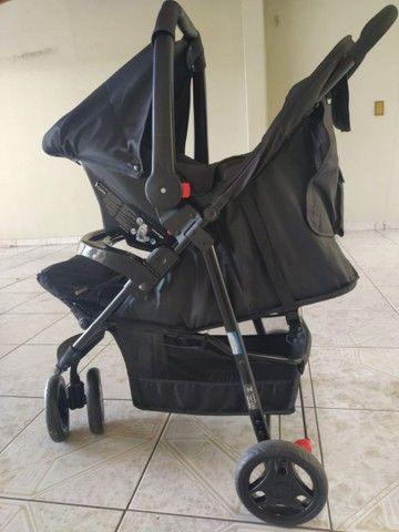 Carrinho Voyage com bebê conforto!! - Foto 2