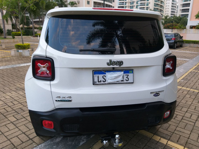 Jeep Renegade Sport TB Diesel 4x4 2.0 2016 AUTOM só 70km Top 9 marc Vist.21 Cartão 12x  - Foto 3