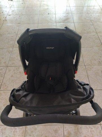 Carrinho Voyage com bebê conforto!! - Foto 5