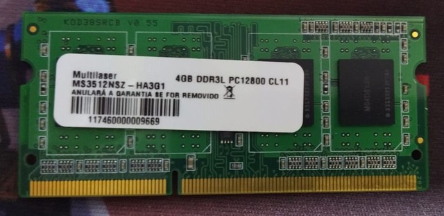 Memoria RAM notebook DDR3 4GB / 4 GB / 1 GB - Processador Pc Intel 775 - Foto 2