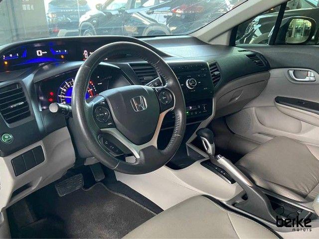 Honda Civic Sedan LXR 2.0 Flexone 16V Aut. 4p - Foto 8