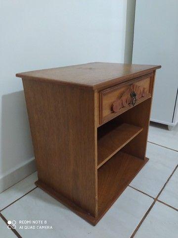 Criado Mudo de madeira  - Foto 2