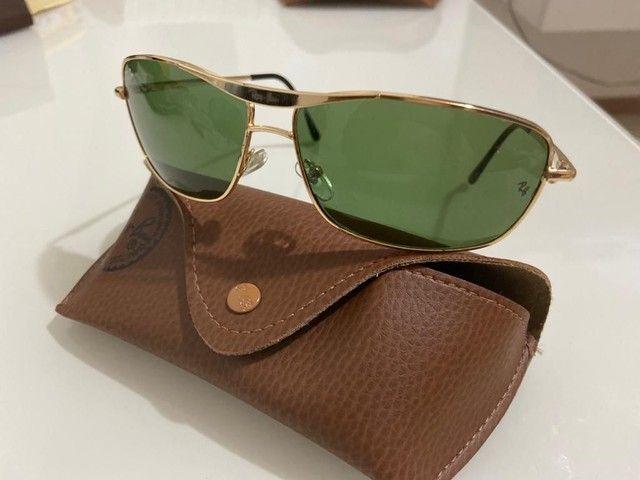 Óculos Ray Ban Unisex Metálico Modelos 100% Atualizados  - Foto 2