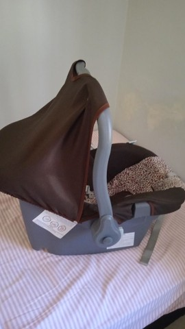 Bebê conforto e carrinho - Foto 3