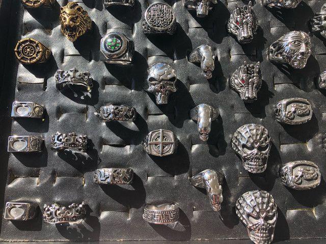Anel de aço inoxidável - Homem de ferro - Foto 6