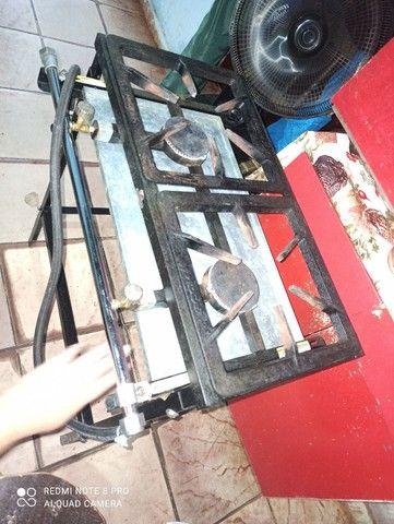 Vendo fogão semi-industrial  - Foto 2