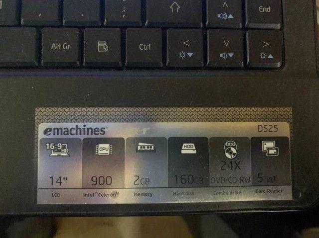 Notebook ACER e-machines - Foto 5