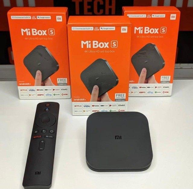 Mi Box S 4K Ultra HD Wi-Fi  8GB Rom+ 2GB Ram Bivolt - Preto - Foto 2