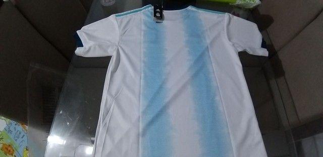 Camisa da Argentina adiadas muito top zaAlexsandro camisa tailandesa   - Foto 4