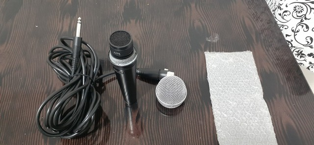 Microfone Shure Sv100 C/ Cabo 03 Metros Original - Foto 2