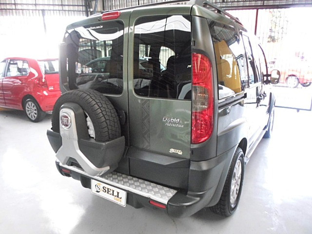 Fiat - Doblo Adventure Xingu 2013 Verde 6 Lugares Completo - Foto 7