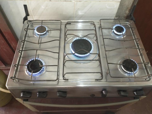 Vende-se fogão atlas inox 5 bocas acendimento automático entrego Uberaba - Foto 5
