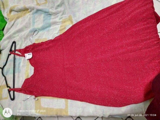 Vestido Novo (P) Apenas R$ 25,00 - Foto 6
