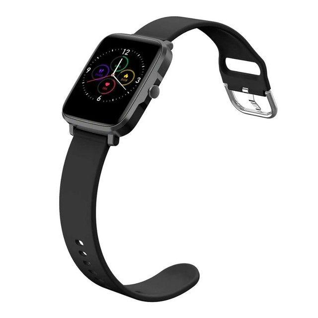Smartwatch Goldentec Plus Preto - Foto 4