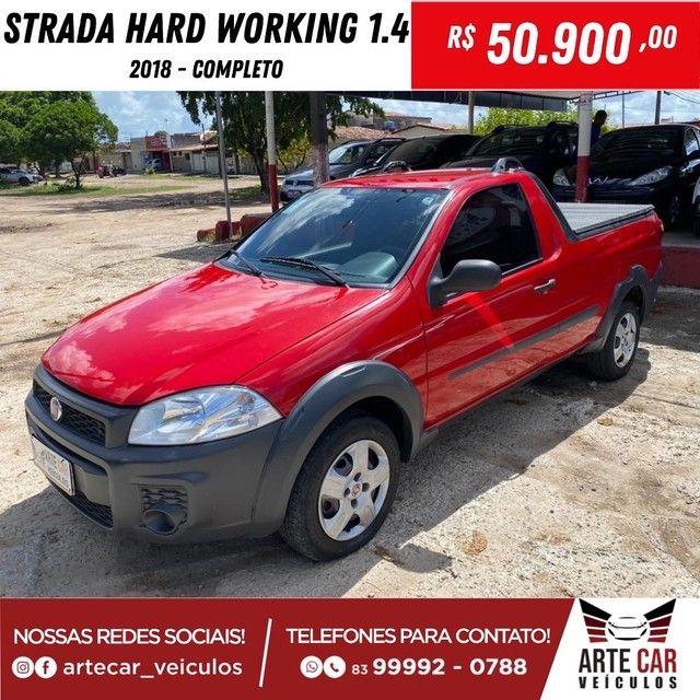 Strada hard working 1.4 completo 2018!!