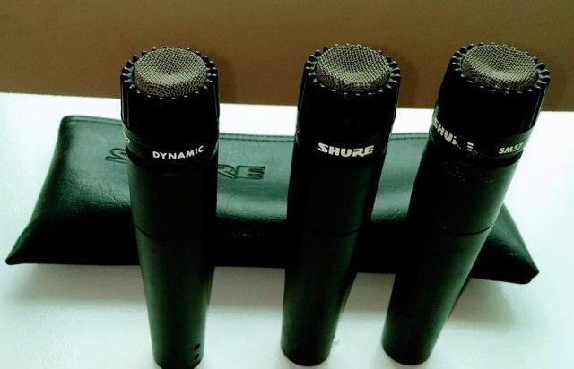 Microfone para Instrumentos Shure SM57 - Foto 3