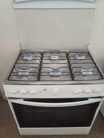 Exelent fogão 6 bocas elétrico  - Foto 4
