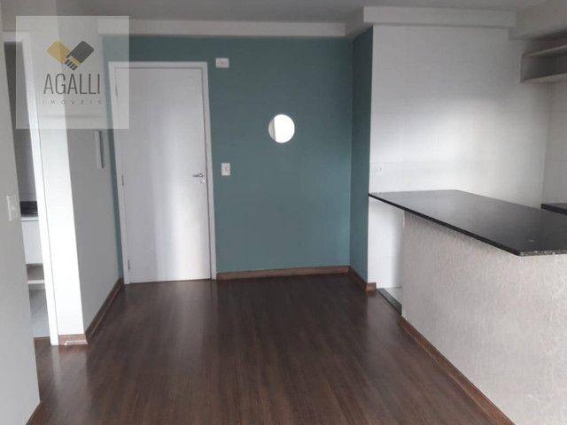 Apartamento com 2 dormitórios para alugar por R$ 1.300,00/mês - Hauer - Curitiba/PR - Foto 3