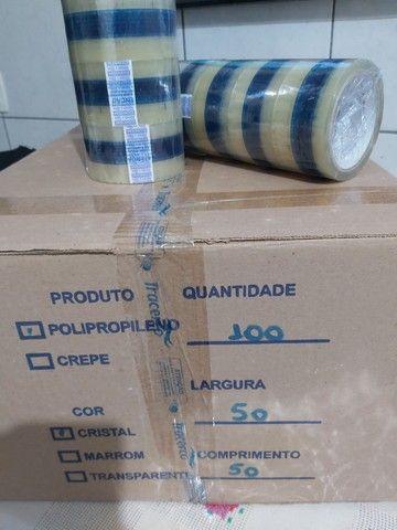 Caixa de Fita de Polipropileno 50mmx50m