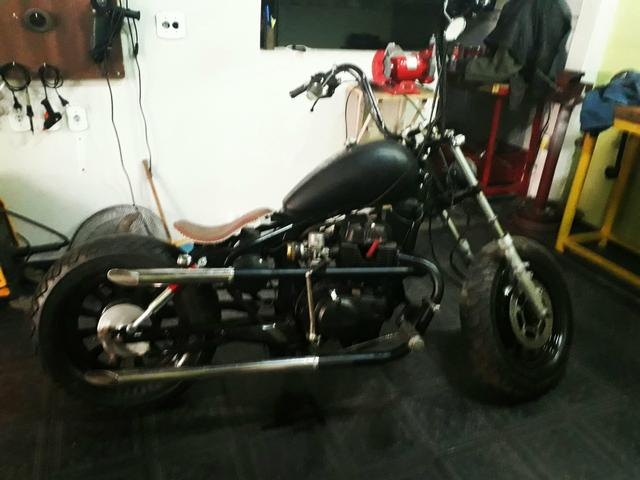 CB 400 BOBBER, CUSTOMIZADA, CHOPPER