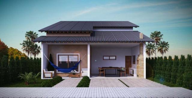 Casa nova, 4 quartos, condominio fechado em Bananeiras!