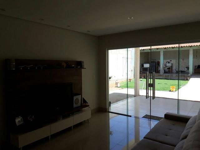 Linda casa no Setor de Mansões de Sobradinho, aceita casa no Rk - Foto 5