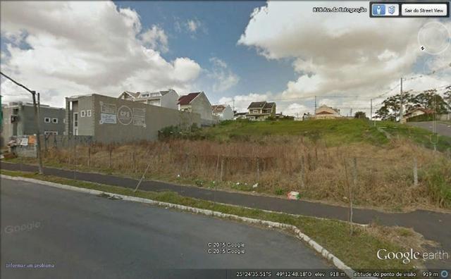 Terreno comercial de esquina com excelente localização no Bairro Alto