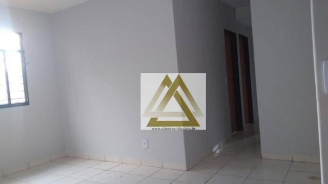 Apartamento com 3 dormitórios à venda, 66 m² por r$ 120.000 - vila santa rita - goiânia/go - Foto 9