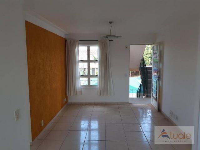 Apartamento com 2 dormitórios para alugar, 46 m² por r$ 1.050,00/mês - parque villa flores - Foto 2