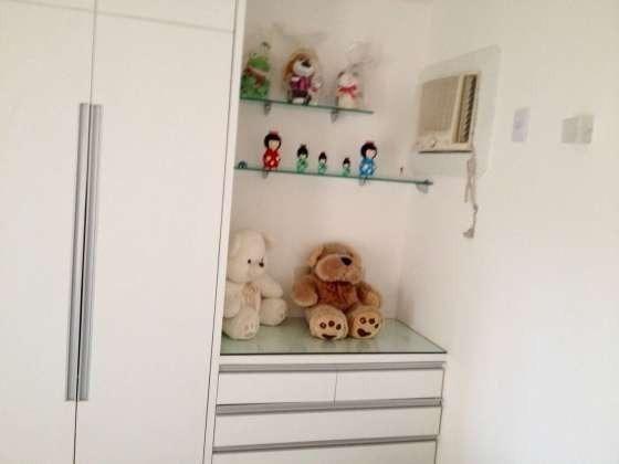 Vendo excelente apartamento todo reformado e mobiliado com garagem coberta 2/4 no planalto - Foto 20