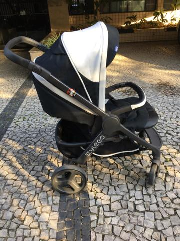 Carrinho de bebê - Trio Chicco Style Go