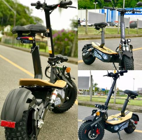 Scooter patinete NOVO MOST. 1600w 48volts adulto - Foto 5
