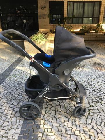 Carrinho de bebê - Trio Chicco Style Go - Foto 3