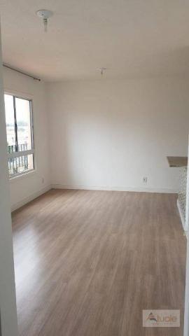 Apartamento com 3 dormitórios à venda, 63 m² - Villa Flora Hortolandia - Hortolândia/SP - Foto 9