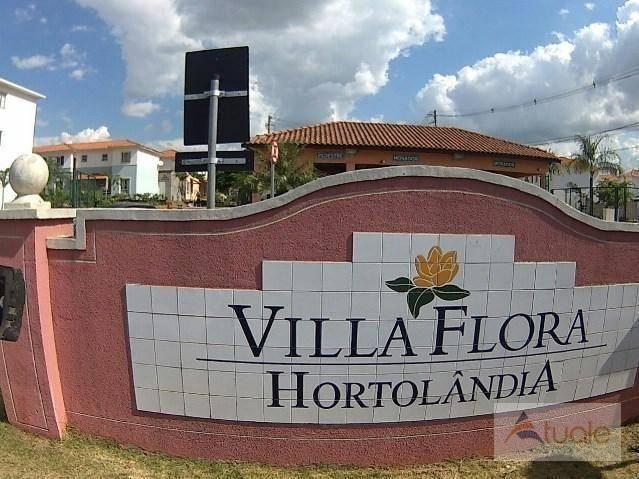 Apartamento com 3 dormitórios à venda, 63 m² - Villa Flora Hortolandia - Hortolândia/SP