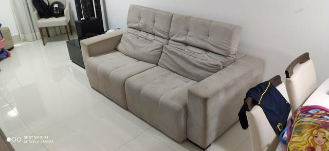 Sofá reclinável com chaise - Foto 3