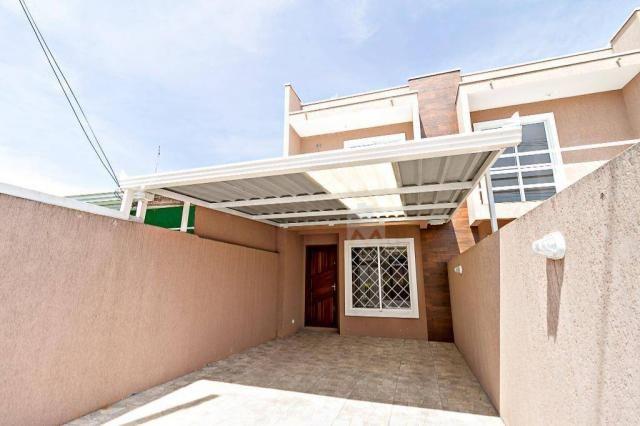 Sobrado com 2 dormitórios à venda, 70 m² por r$ 225.000,00 - ganchinho - curitiba/pr - Foto 4