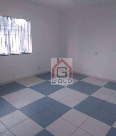 Sobrado com 4 dormitórios para alugar, 250 m² por R$ 4.500/mês - Campestre - Santo André/S - Foto 2